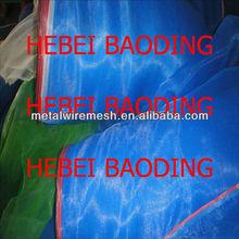 To Thailand Myanmar market 16mesh Blue Plastic Net
