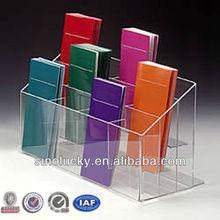 Acrylic Pamphlet Dispenser: 12 pocket