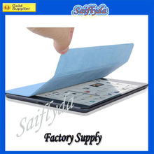 Top sale magnetic smart cover for ipad mini with back case