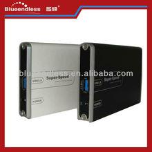 "2.5"" HDD Case usb3.0 IEEE 1394 HDD Enclosure"