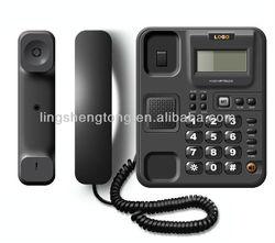 New Model, Caller ID Phone,with big LCD display, multi-function, handsfree, OEM factory.