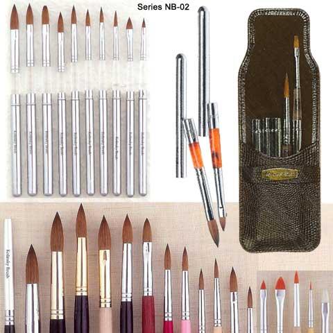 Nail Brush, Kolinsky Sable Nail Brush, Acrylic Brush, Cosmetic