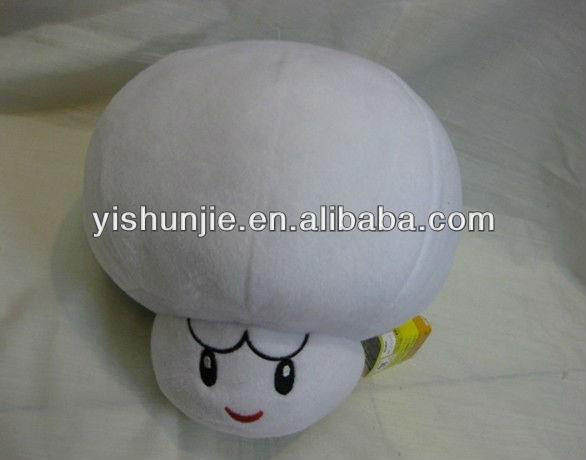 for nintendo new super mario mushroom white stuffed soft plush action figure toys