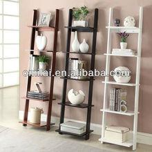 Ladder storage shelf,bedroom furniture design