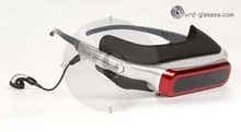 video glasses vrd-920 with 80 inch none radiation true color Micro LCD panel 640 x 480