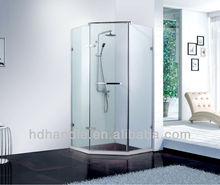 Bath shower screen , shower screen with hinged door