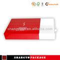 Alta qualidade artesanal modelo de caixa, convite de casamento da amostra, personalizado impresso prancheta
