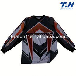 custom motorcycle & auto racing jerseys/tops