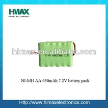 nimh battery pack 12 volt 1000MAH AA / industrial battery