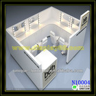 Fashionable Design Acrylic hair solon Display/Stand/cabinet