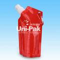 plegable botella de agua de la promoción de alta calidad libre de bpa plegable