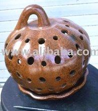 candle bracket helloween - lombok pottery
