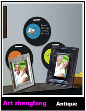 Wholesale classic photo frame glass hanging pictures