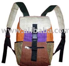 Hemp backpack bags