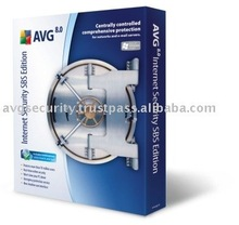 AVG Internet Security SBS (Small Business Server) Edition software 180+1 Computers 2 Years