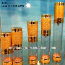 2012 hot 15ml,30ml,50ml,80ml,100ml,120ml cosmetic airless bottle