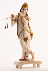 Marble Krishna with flute- Proceeds Go to Foundation