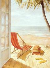 bulk wholesale high-quality home decoration seascape beach painted picture