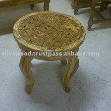 olive wood coffee table