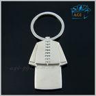 fashion key chain custom clothing shaped metal keychain