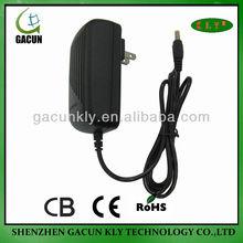 2013 new sytle lower price110V-240V 12V2A 24W CCTV CAMERA US AC adapter