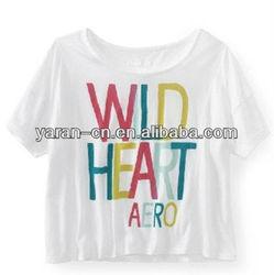 fashion clothing new design t-shirt korea design for women 2013