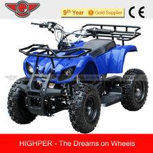 2013 New Model Automatic Mini ATV Quads For Kids