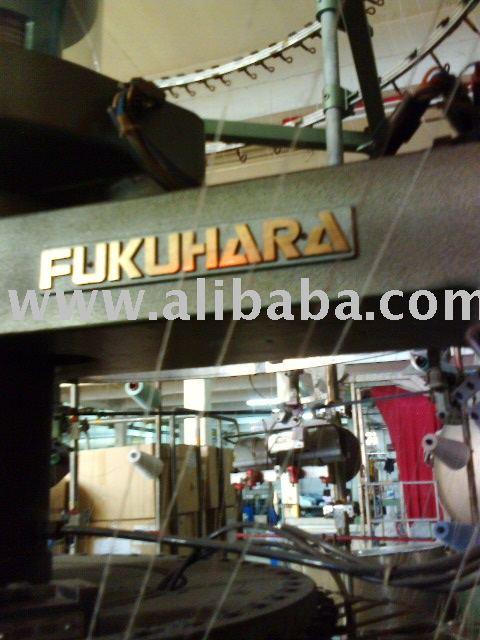 Utilizado Fukuhara y Pai de un solo pulmón circular de la máquina de tejer