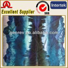 Fashin digital design 100 poly satin fabric