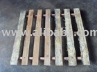 Two way runner wooden pallet