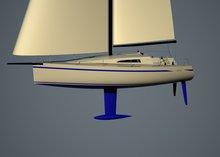 40 ft sailboat racer