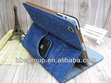 New leather case for ipad2/34 Jeans series
