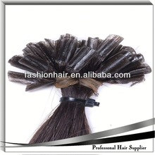 2014 High quality raw material U-Tip/Nail Hair Extension fashion wig remy sensationnel weaving hair
