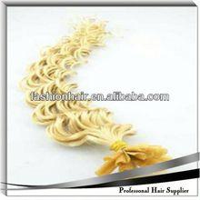 2014 High quality raw material U-Tip/Nail Hair Extension fashion wig virgin single drawn human hair