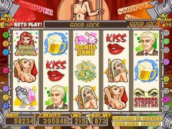 PK-208SP Stripper slot game
