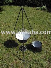 Outdoor cooking pots / Bogracs / Kessel / Gulasc