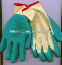 Latex gloves coating