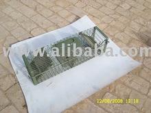 sliding load paint mouse trap cage