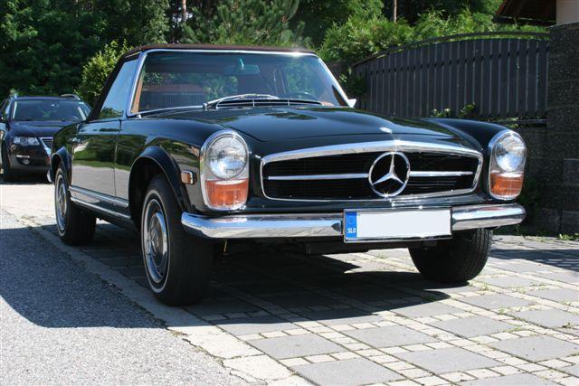 Mercedes SL280 oldtimer