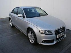 2008 Audi A4 cars 2.0 litre 2.0 TDi 143 SE 4dr UK EXPORT