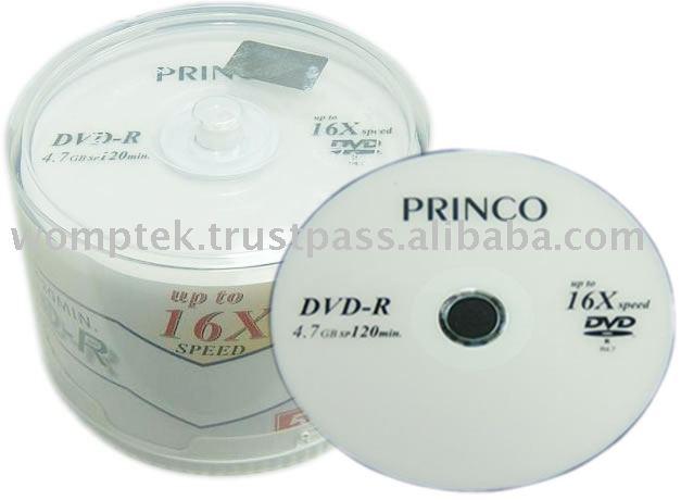 Princo marca dvd - r 16X
