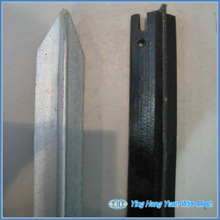 Hot dipped Galvanized Steel fence T post exported to US