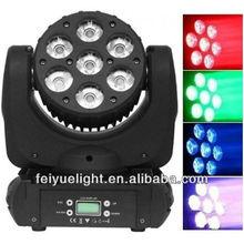 4in1 Osram 7x12w LED Moving Head