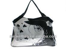 Pictures printing pp non woven bag,laminated non woven bag