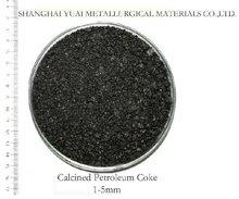 low sulfur calcined petroleum coke / cpc for steel