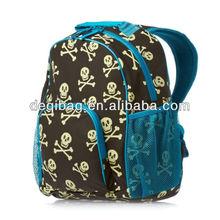 BOYS BOOK LOVELY SKULL SHOULDER SCHOOL BACKPACK BOOK BAG