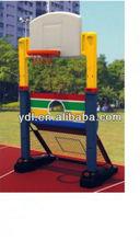 Combination basketball and football