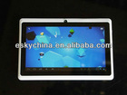 New7 Inch RK2926 Android 4.0.4 tablet Cortex A9 1GHz q88 ii