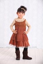 Frill skirt design kids beautiful model child garment