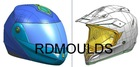 motorcycle helmet mould (moldes do capacete da motocicleta)